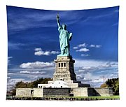 Liberty Island Tapestry