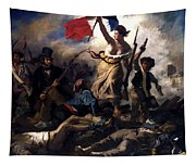 Liberty Leading The People During The French Revolution Tapestry