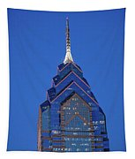 Liberty Place Skyscrapper At Dusk Tapestry