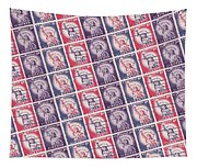 Liberty Stamps Collage Tapestry