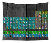 License Plate Art Recycled Periodic Table Of The Elements By Design Turnpike Tapestry