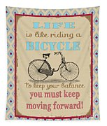 Life-bicycle Tapestry