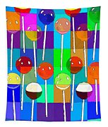 Life Is Full Of Lollipops Tapestry