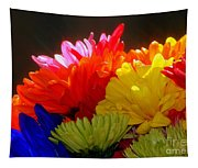 Life Is Short Buy The Flowers Tapestry