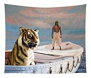 Life Of Pi Tapestry