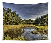 Life On The Marsh Tapestry