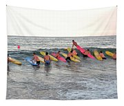 Lifeguard Competition Tapestry