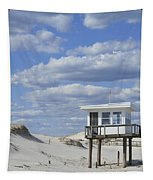 Lifeguard Station Island Beach State Park Nj Tapestry