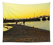 Lifes A Beach Tapestry