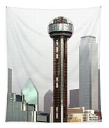 Lifting Fog On Dallas Texas Tapestry