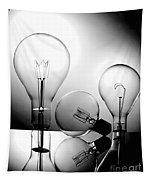 Light Bulbs Tapestry