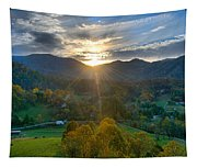 Light In The Valley Tapestry