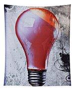 Lightbulb Tapestry