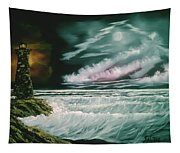 Lighthouse Glow Tapestry