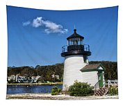 Lighthouse Mystic Seaport Tapestry