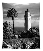 Lighthouse On The Bluff Tapestry