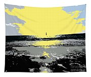 Lighthouse On The Horizon Tapestry