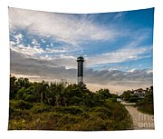 Lighthouse Pathway Tapestry
