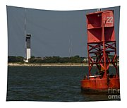 Lighthouse To Buoy Tapestry