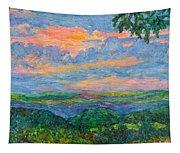 Lighting The Ridge Tapestry