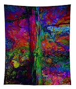 Lightning Strucked Tree Tapestry
