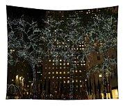 Lights In Rockefeller Center Tapestry