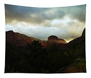 Like A Ray Of Hope In The Mountains Tapestry