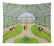 Lilac Arbour Oil On Board Tapestry
