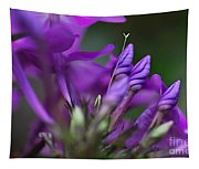 Lilac Petals And Purple Buds Tapestry