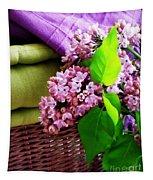 Lilac Still Life Tapestry