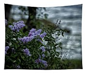 Lilacs By The River Tapestry
