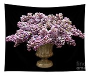 Lilacs In A Green Vase - Flowers - Spring Bouquet Tapestry