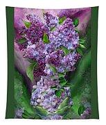 Lilacs In Lilac Vase Tapestry