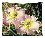Lillies Clothed In Glory Tapestry