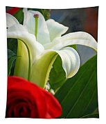 Lilly And Rose Tapestry
