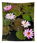 Lily Pad Haven Tapestry