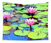 Lily Pond Tapestry