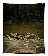 Lilypads At The Dock Tapestry
