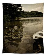 Lilypads In The Lake Tapestry