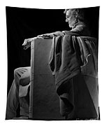 Lincoln In Black And White Tapestry