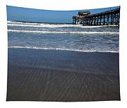 Lines In The Sand Tapestry