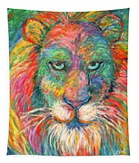 Lion Explosion Tapestry