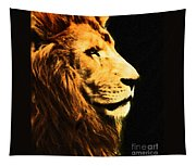 Lion Paint 2 Tapestry