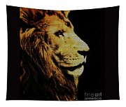 Lion Paint Tapestry