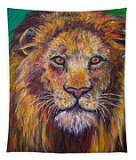 Lion Stare Tapestry