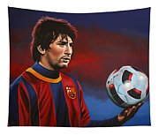 Lionel Messi 2 Tapestry