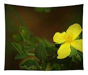 Lit Flower Tapestry
