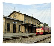 Lithuania. Silute Train Station. 2008 Tapestry