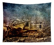 Little Big Truck Tapestry