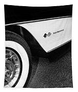 Little Black Corvette Palm Springs Tapestry